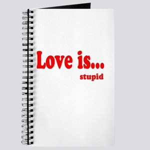 Love is.. Stupid Journal