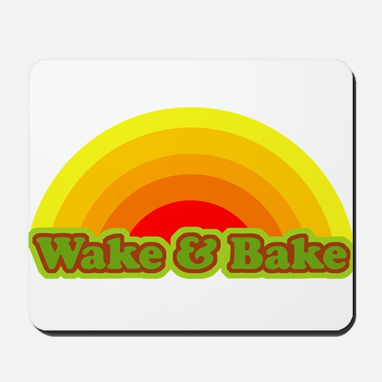 Wake & Bake Mousepad
