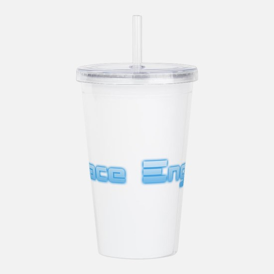SpaceEngine Logo One-L Acrylic Double-wall Tumbler
