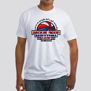 Jackie Moon Basketball Camp Fitted T-Shirt