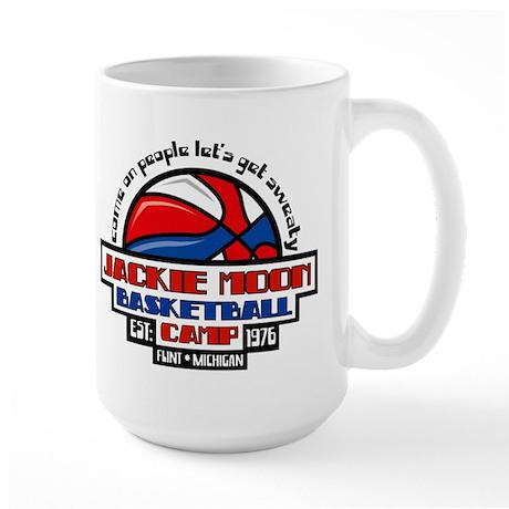 Jackie Moon Basketball Camp Large Mug