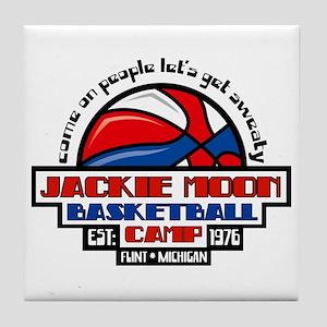 Jackie Moon Basketball Camp Tile Coaster