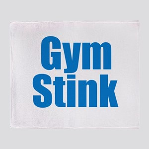 Gym Stink Throw Blanket