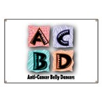 Anti-Cancer Belly Dancer Banner