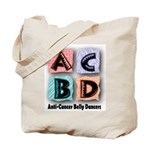 Anti-Cancer Belly Dancer Tote Bag