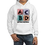 Anti-Cancer Belly Dancer Hooded Sweatshirt