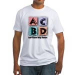 Anti-Cancer Belly Dancer Fitted T-Shirt