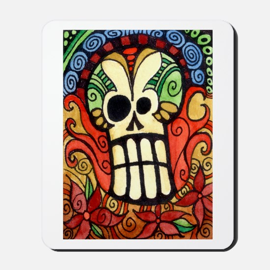 Day of the Dead Sugar Skull 1 Mousepad