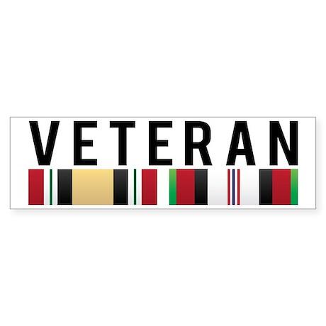 OIF/OEF Veteran Bumper Sticker