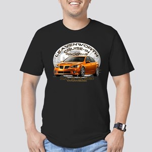 Leavenworth Cruise-in Men's Fitted T-Shirt (dark)