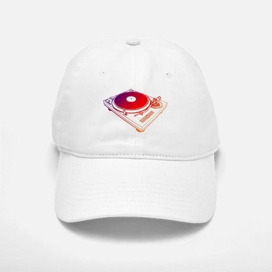 Vinyl Turntable 5 Baseball Baseball Cap