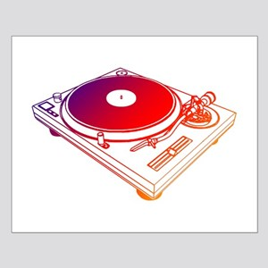 Vinyl Turntable 5 Small Poster