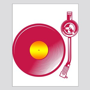 Vinyl Turntable 4 Small Poster