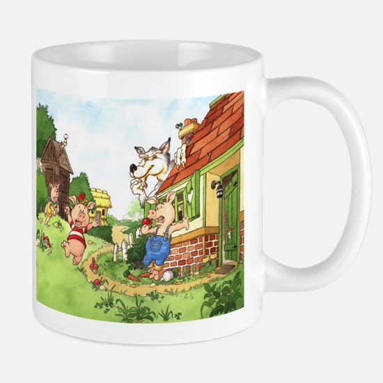 The Pigs and the Wolf Mug