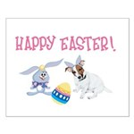 JRT Happy Easter Small Poster
