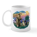 St. Francis #2 / Two Labradors Mug