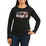 Women's Long Sleeve T-Shirt (dark) 2