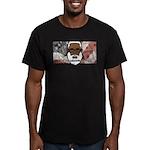 Men's Fitted T-Shirt (dark) 2