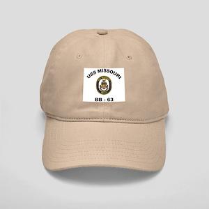 USS Missouri BB 63 Cap