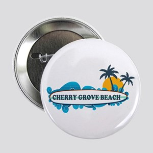 "Cherry Grove SC - Surf Design 2.25"" Button"