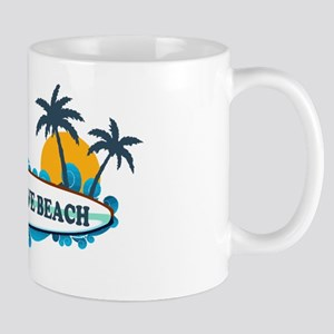 Cherry Grove SC - Surf Design Mug