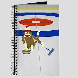 Sock Monkey Olympics Curling Journal