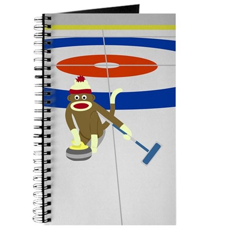 Sock Monkey Olympics Curling Journal