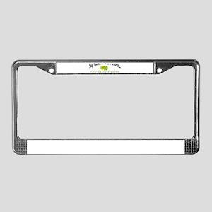 FAN-tastic License Plate Frame