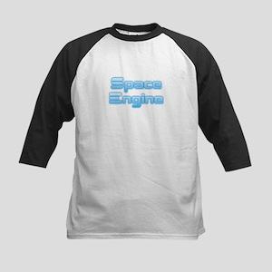 SpaceEngine Logo Two-Line Transpar Baseball Jersey