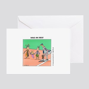 """""""...On First"""" Blank Cards (Pkg. of 6) Greeting Car"""