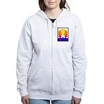 Sunburst Women's Zip Hoodie