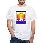 Sunburst White T-Shirt
