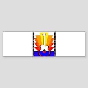 Sunburst Sticker (Bumper)