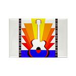 Sunburst Rectangle Magnet (100 pack)