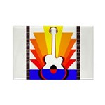Sunburst Rectangle Magnet (10 pack)