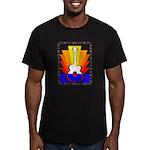 Sunburst Men's Fitted T-Shirt (dark)