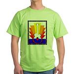 Sunburst Green T-Shirt