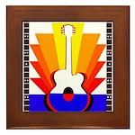 Sunburst Framed Tile