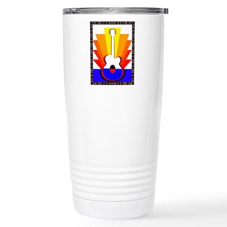 Sunburst Stainless Steel Travel Mug