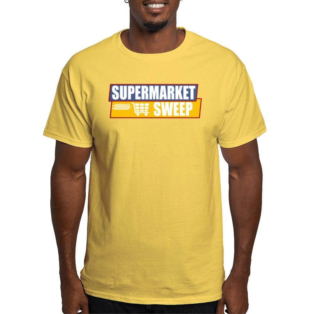 Details about CafePress Supermarket Sweep Light T Shirt 100% Cotton T-Shirt  (435724275)