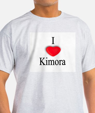 Kimora Ash Grey T-Shirt