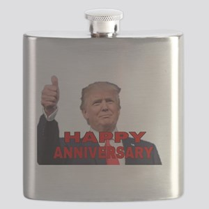 HAPPY ANNIVERSARY Flask