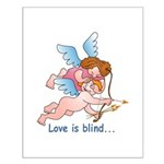 Blind Love Small Poster