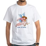 Blind Love White T-Shirt