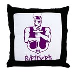 951 Raiders Throw Pillow