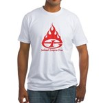 IE Fire Fitted T-Shirt