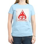 IE Fire Women's Pink T-Shirt