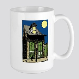 Black Cat at Shop Large Mug