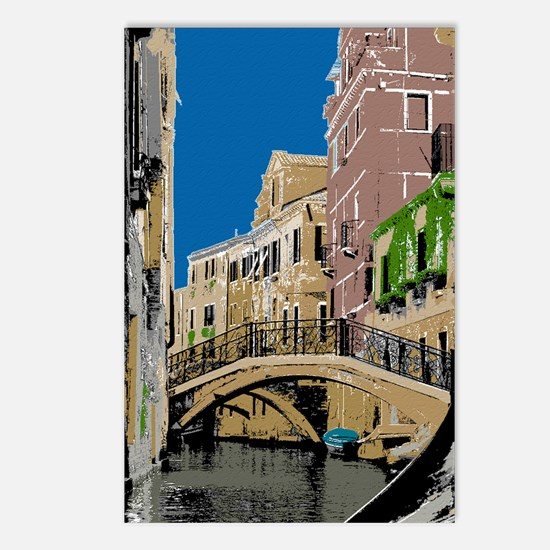 Venice Travel Posters Postcards (Package of 8)