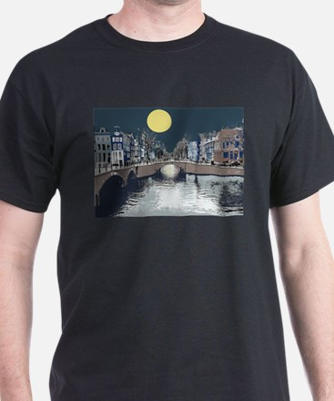Amsterdam at Night T-Shirt
